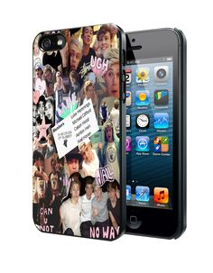 Michael Clifford 5SOS college Samsung Galaxy S3 S4 S5 Note 3 Case, Iphone 4 4S 5 5S 5C Case, Ipod Touch 4 5 Case