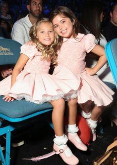 Sophia Grace and Rosie attend the 2013 Billboard Music Awards in Las Vegas.
