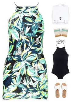 Island getaway  by genesis129 on Polyvore featuring polyvore fashion style Boohoo J.Crew Billabong Proenza Schouler Dot & Bo vintage clothing