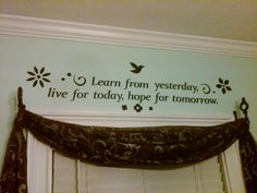 We all need daily affirmations!  This one is behind my desk in my home office :)