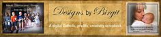 Designs by Birgit - A digital Catholic, pro-LIFE, creativity scrapbook. Here you will find blog posts about these topics as well as recipes and more. Check it out!