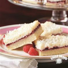 #Raspberry #Coconut Bars from Eagle Brand®