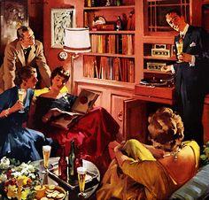 Plan59 :: Retro 1940s 1950s Decor & Furniture :: Haddon Sundblom, 1956