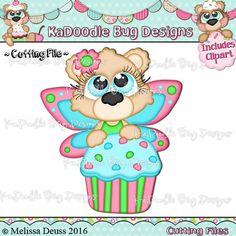 Cutie KaToodles - Cupcake Fairy Bear - Click Image to Close