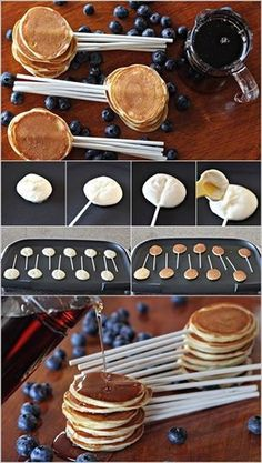 Great idea for a girls sleep over morning breakfast