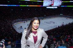 República Dominicana se promociona en la arena de hockey del Bell Centre en Montreal