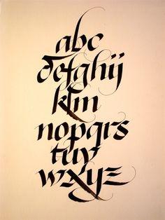 Alphabets - Calligraphie & Design