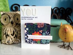 your awesomeness card - aww | Jane Lee http://janeleescards.blogspot.com