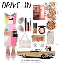 """""""Back in time"""" by serban-alessandra on Polyvore featuring Moschino, RED Valentino, Chanel, Smashbox, Too Faced Cosmetics, In Your Dreams, Benefit, Estée Lauder, MAC Cosmetics and NARS Cosmetics"""