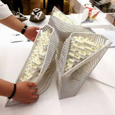 Final model of the Biome Gorge by from – my postgraduate design… Module Architecture, Concept Models Architecture, Architecture Student, Futuristic Architecture, Architecture Design, Architecture Graphics, Greece Architecture, Archi Design, Facade Design
