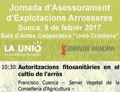 LA UNIÓ organitzat hui a Sueca una jornada monogràfica sobre el sector de l'arròs