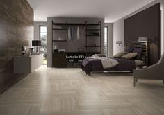 Vein Beige & Dark Brown - Imola