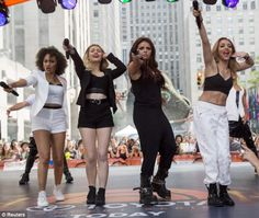 Little Mix on the Today Show 6/17/14