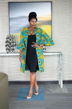 African jacket, women jacket,wax print jacket, African print women jacket, Africa women jacket - Women's style: Patterns of sustainability African Fashion Designers, African Fashion Ankara, Latest African Fashion Dresses, African Print Dresses, African Print Fashion, Africa Fashion, African Dress, African Attire, African Wear
