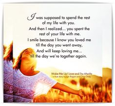This was meant for couples, I think, but it applies to children we have lost. Miss you so much, Josh!