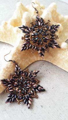 Orecchini Stella di mare, da un mio tutorial