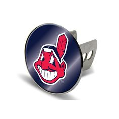 Cleveland Indians MLB Laser Cut Hitch Cover