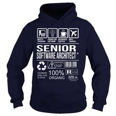 Awesome Tee For Senior Software Architect T-Shirts, Hoodies. ADD TO CART ==► https://www.sunfrog.com/LifeStyle/Awesome-Tee-For-Senior-Software-Architect-Navy-Blue-Hoodie.html?41382