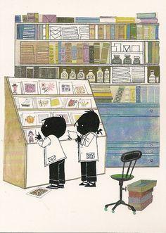 B৲( °৺° )৴K                                                           Jip en Janneke Schmidt, Inspirational Books, Children's Book Illustration, Illustrations And Posters, Getting Old, Childrens Books, Artwork, Sketching, Doodles