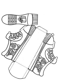 Shoe for Saint Nicholas (without text)Craft Shoe for Saint Nicholas (without text) Christmas Math, Retro Christmas, Father Christmas, Christmas Christmas, Art For Kids, Crafts For Kids, Arts And Crafts, Shoe Crafts, Paper Crafts
