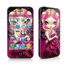 I'm not weird. I'm limited edition. ~Featuring http://www.istyles.com/skins/phones/apple-iphone/iphone-4s-iphone-4/pink-lightning-iphone-4-skin-p-88165.html