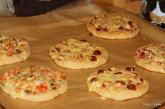 Kartoffelfaser-Pizzabrötchen