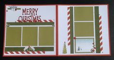 CTMH Beary Christmas layout