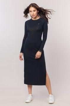 BİLCEE - bilcee 18W-3023 KADIN ORME ELBISE The Dress, High Neck Dress, Dresses For Work, Fashion, Turtleneck Dress, Moda, Fashion Styles, Vestidos, Fashion Illustrations