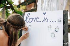 Love is... #loveis #pinnwand #weddinginspo #weddingguestbook #guestbookideas #weddingideas #weddinginspiration Wedding Guest Book, Margarita, Weddingideas, Wedding Inspiration, Crown, Love, Corona, Amor, Margaritas