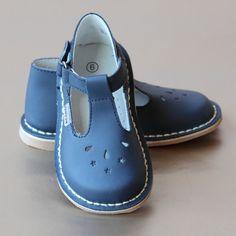 L'Amour Girls Nouveau Classic T-Strap Leather Mary Jane – Petit Foot