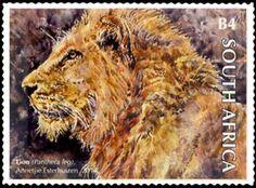 Stamp: Lion (South Africa) (The Big Five) Mi:ZA 2304