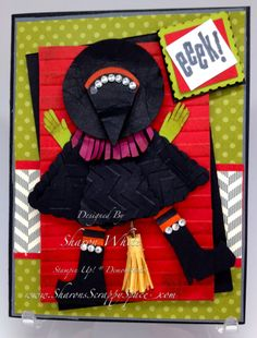 Witch Punch Art...you have to be a Stampin' Up demonstrator to view this...but it's adorable
