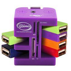 Universal Multifunctional Card Reader High Speed Usb Splitter ECA LISTING BY Euroblob Ridgeway Ext 4, South Africa