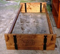 ein Bild - portable viking bed