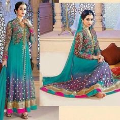 Colourful Hit Design Anarkali Suit  Product Info : Top - Net (With Exclusive Embroidery & Diamond Work) Inner/Bottom - Santoon. Duppatta - Nazneen Chiffon.  Sale Price : 1800 INR Only ! #Booknow  CASH ON DELIVERY Available In India !  World Wide Shipping !   For orders / enquiry  WhatsApp @ 91-9054562754 Or Inbox Us  Worldwide Shipping !  #SHOPNOW  #lahengacholi #onlineshopping #bridalwear #glamour #style #quallity #pakistanifashion #designersaree #salwarkameez #patiyalasuits #punjabisuit…