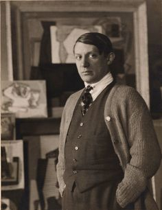 Picasso, by Man Ray 1923