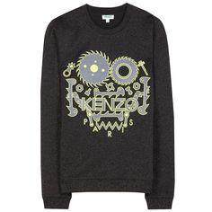 Kenzo - Monster cotton sweatshirt - mytheresa.com GmbH