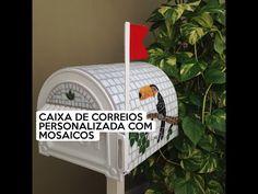 Caixas de correio personalizadas com mosaicos - YouTube