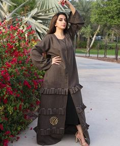 #Repost @primeraboutique with @instatoolsapp Petals with pinky inky flowers mingle with our new collection dress with light brown color and lining popple dots that bounce the flawless perception of you. CODE: #0036-O3 PRICE: 620.00 #subhanabayas #fashionblog #lifestyleblog #beautyblog #dubaiblogger #blogger #fashion #shoot #fashiondesigner #mydubai #dubaifashion #dubaidesigner #dresses #openabaya #uae #dubai #abudhabi #sharjah #ksa #kuwait #bahrain #oman #instafashion #dxb #abaya #abayas…
