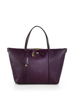 DOLCE & GABBANA Miss Escape Large Leather Tote