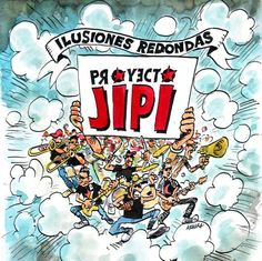 #MUSICA - Ilusiones Redondas by Proyecto Jipi.  Tercer trabajo de estudio de Proyecto Jipi.  CAMPAÑA: http://www.verkami.com/projects/788  CONSÍGUELO: http://www.musikaze.com/es/musica/grupos/tienda.php?site=PROYECTOJIPI