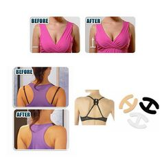 2.89$  Watch now - http://vihie.justgood.pw/vig/item.php?t=bkly156491 - 3PCS/6PCS Fashion Brand New Perfect Adjust Bra Strap Clip Cleavage Control