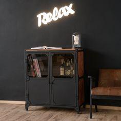 BROOKLYN Kommode Sideboard Industrial style Stil Design Metall Holz \ Sideboard Iron Wood | NOTORIA