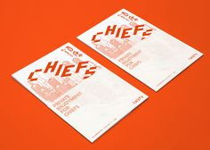 CHIEFS Exhibition on Behance