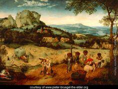 Hay-Harvest - Pieter the Elder Bruegel - www.pieter-bruegel-the-elder.org