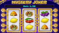 Play N Go Software has introduced another #classic style slot called the #MysteryJoker.  With a look that is #different from their regular releases, this slot is a 3 reel game with 5 lines.  This slot is very #easy to play, partly because you will not have a lot of lines to bet on. The lines will remain fixed during play, but the total bet starts a 0.50 credits and go up to 100 credits.