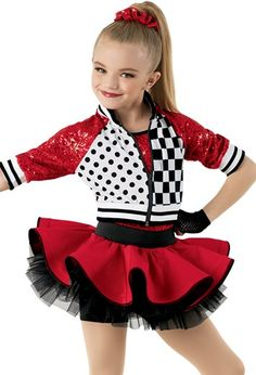 Gorgeous, age-appropriate dance recital costumes for little dance-class beginners. Shop girls' dance costumes and save with studio-exclusive pricing. Dance Recital Costumes, Girls Dance Costumes, Jazz Costumes, Dance Outfits, Dancing Outfit, Look Fashion, Kids Fashion, Lolita Fashion, Foto Sport