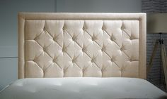 Compatible with standard divan bases, these elegant headboards come in 13…