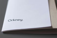 Orkney is a geometric typeface designed and conceptualised by Samuel Oakes