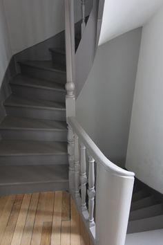 Escalier peint More
